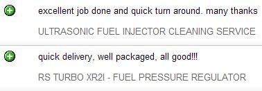 feedback text
